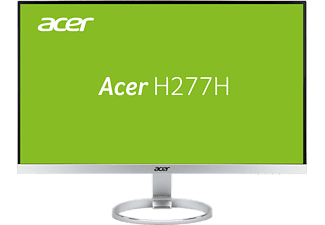 ACER H277Hsmidx 27 Zoll   (1x VGA, 1x DVI, 1x HDMI, 1x Audio In/Out Kanäle, 4 ms Reaktionszeit)