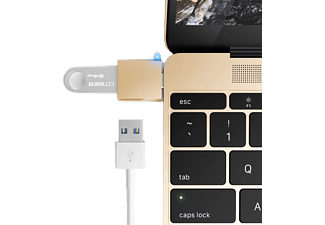 SATECHI Type-C USB Adapter. Förvandla din 12-tums Mac USB Type-C port till en USB 3.0 port
