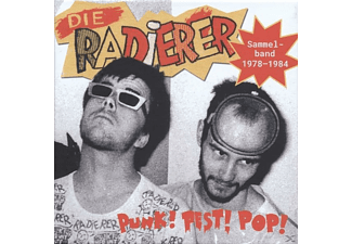 Die Radierer - Punk!Pest!Pop!Sammelband 1978-1984 - (CD)
