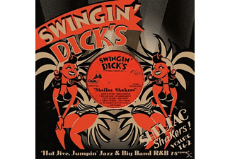 VARIOUS - Swingin' Dick's Shellac Shakers 01+02 - (CD)