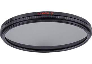 MANFROTTO MFADVCPL-62 Advanced, Zirkular-Polfilter, 62 mm