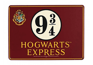 Harry Potter Blechschild Hogwarts Express