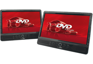 "CALIBER Draagbare DVD-speler 10.1"" Duo (MPD2010T)"