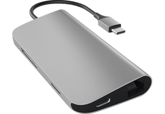 SATECHI MULTI-PORT, USB Typ-C Hub, Space Grey