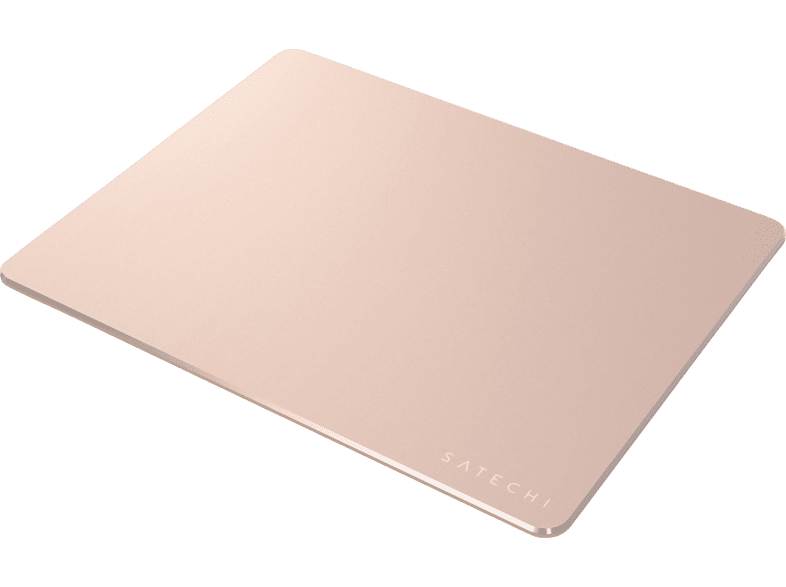 SATECHI 240648 ALUMINIUM MOUSE PAD ROSE GOLD, Mouspad, Rose Gold