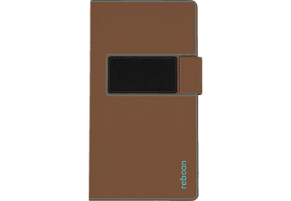 booncover XS2, Universal, Polyuretan-Soft-Touch/Microfaser, Braun