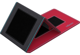 boonflip XS  Universal Polyuretan-Soft-Touch/Microfaser Rot