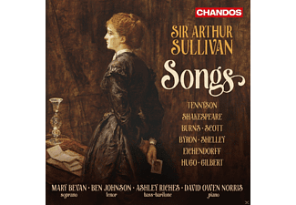 Mary  Bevan, Ashley Riches, David Allen Norris, Ben Johnson - Songs - (CD)