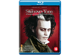 Sweeney Todd: The Demon Barber Of Fleet Street - Blu-ray