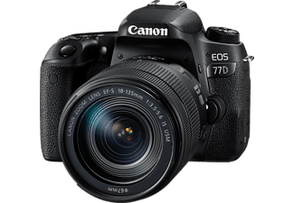 CANON EOS 77D με φακό 18-135 IS USM