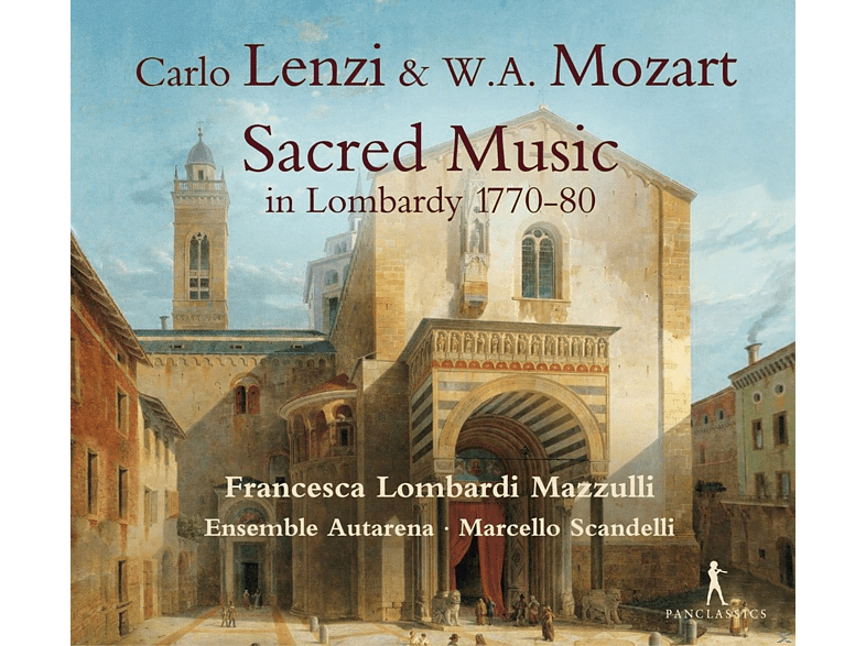 Francesca Lombardi Mazzulli, Ensemble Autarena - Sacred Music in Lombardy 1770-80 [CD]