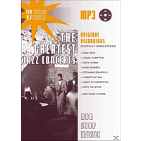 VARIOUS - Greatest Jazz Concerts-MP3 [MP3-CD]