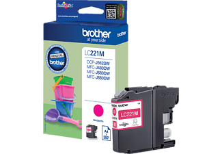 BROTHER LC221M Magenta (LC-221MBP)
