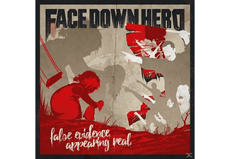 Face Down Hero - False Evidence Appearing Real - (CD)