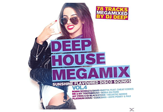 VARIOUS - Deep House Megamix Vol.4-Su - (CD)