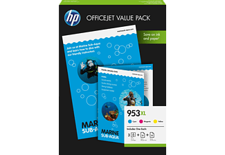 HP Tintenpatronen Value Pack Nr. 953 XL Officejet (1CC21AE)