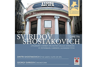 Sondeckis, Saulius / Titov, Aleksander - From The Movies - (CD)