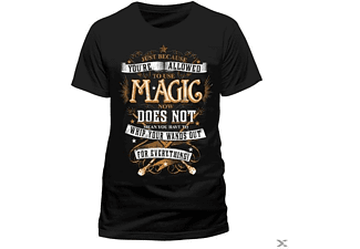 Magic Wands (T-Shirt,Schwarz,Größe L)