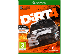 Dirt 4 Day One Edition NL/FR Xbox One