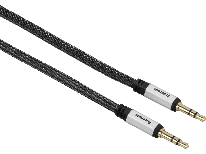 HAMA 3.5-mm-Klinken-Stecker  Audio-Kabel