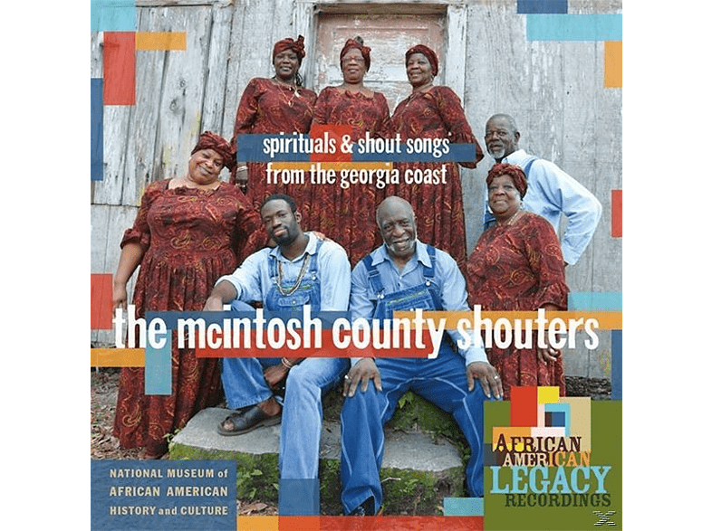 The Mcintosh County Shouters - Spirituals and Shout Songs from the Georgia Coast [CD]