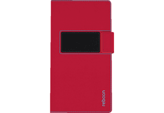 booncover XS2  Universal Polyuretan-Soft-Touch/Microfaser Rot