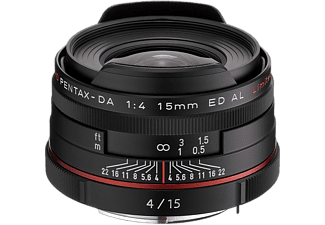 PENTAX Objectif grand angle HD DA 15mm F4 AL Limited (21470)