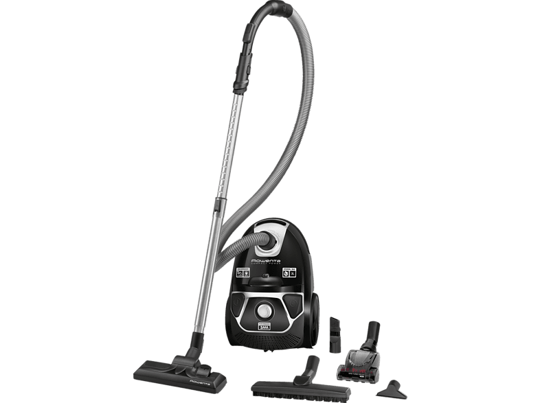 ROWENTA  RO3985 EA Compact Power Animal Care (mit Beutel, High Filtration Filter, Dunkelrot/Silber) | 03221614001154