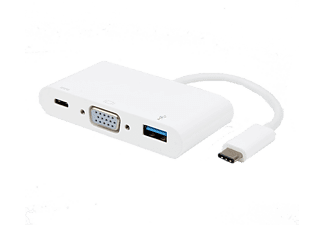 VIVANCO USB-C -  VGA USB 3.1 & USB C adapter