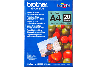BROTHER A4 glanzend papier (BP71GA4)