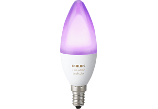 PHILIPS LED Kerze Hue White & Color Ambiance E14, 470 lm, Einzellampe