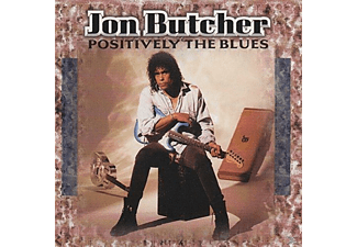 Jon Butcher - Positively The Blues - (CD)