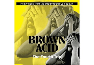 VARIOUS - Brown Acid: The Fourth Trip - (CD)