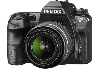 PENTAX Appareil photo reflex K-3 II + 18-55mm (16204)