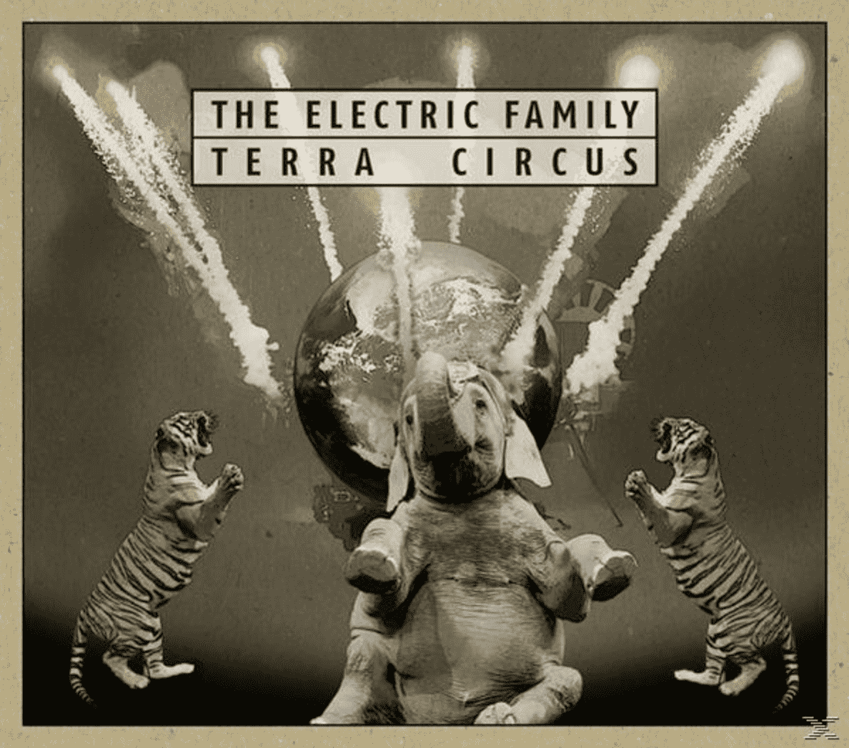 Terra Cicus The Electric Family auf CD