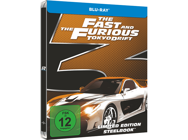 The Fast and the Furious - Tokyo Drift (Exklusives Steelbook) [Blu-ray]