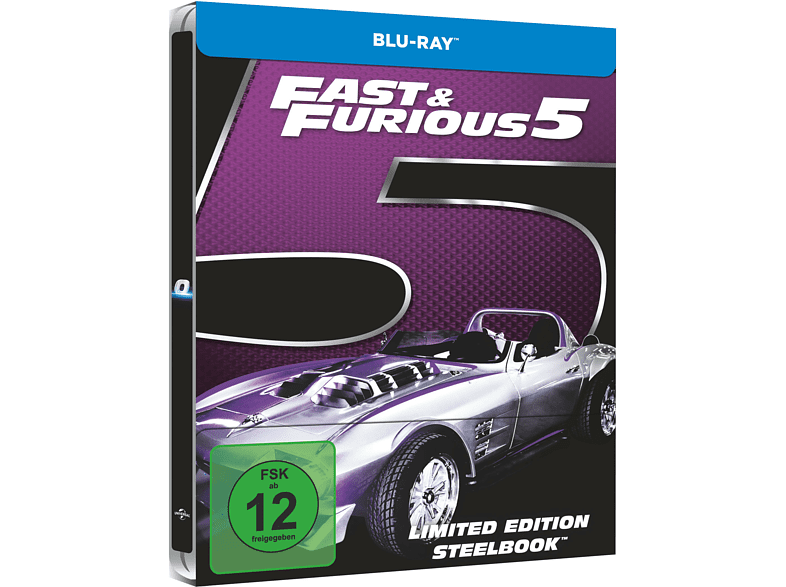 Fast & Furious 5 (Exklusives Steelbook) [Blu-ray]