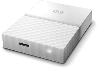 WESTERN DIGITAL My Passport 4 TB disque dur portable Blanc (WDBYFT0040BWT)