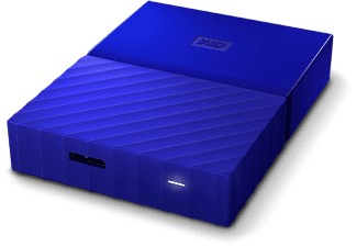 WESTERN DIGITAL My Passport 4 TB disque dur portable Bleu (WDBYFT0040BBL)