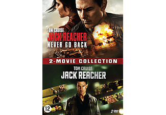 Jack Reacher 1 + 2 - Never Go Back DVD