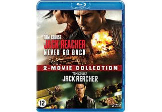 Jack Reacher 1 + 2 - Never Go Back Blu-ray