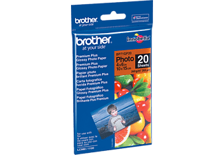 BROTHER 10 cm x 15 cm glanzend papier (BP71GP20)