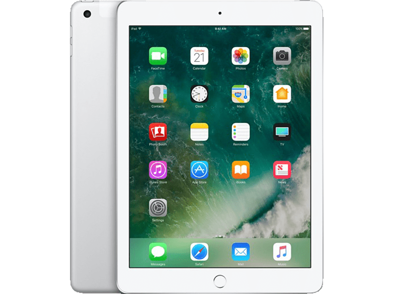 APPLE MP2E2FD/A iPad Wi-Fi + Cellular, Tablet , 128 GB, LTE, 9.7 Zoll, Silber