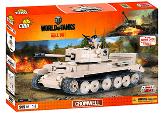 World of Tanks - Bausatz Cromwell (505 Teile)