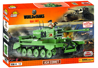 World of Tanks - Bausatz A34 Comet (530 Teile)