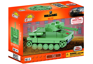 World of Tanks - Bausatz T 34 Nano Tank - sortiert!