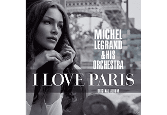 Michel Legrand - I Love Paris - (CD)