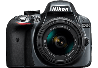 NIKON D3300 + 18-55 mm AF-P Kit VR + 50 mm F1.8 Dijital SLR Fotoğraf Makinesi Outlet