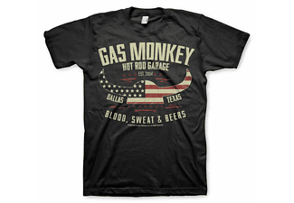 Gas Monkey Garage American Viking T-Shirt XL