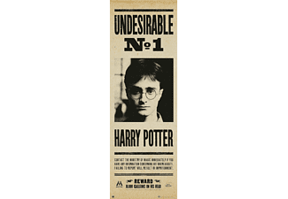 Harry Potter Langbahnposter Undesirable No.1